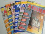 - Atelier Magazine voor Tekenaars en Schilders 1988 NR.12,13,14,15,16,17 - 1989 NR.18,19,20,21,22,23- 1990 NR.24,25,26,27,28,29
