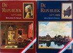 Israel, Jonathan. I. - De Republiek, 1477-1806. Deel I: tot 1647, Deel II: vanaf 1647. Complete set.