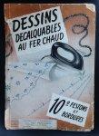 redactie - DESSINS Decalquables au fer chaud no 10  Festons et Bordures