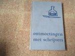 Boekenweekgeschenk - 1956 - Ontmoetingen met schrijvers. Figuren der oude en midden-generatie - P.H. Ritter Jr. / 21e Boekenweek Geschenk ter gelegenheid van de Boekenweek in 1956