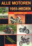 Vos, Ruud - Alle Motoren 1951 - Heden, Supplement 1999 (inklusief een aantal rij-impressies), 48 pag. paperback, gave staat