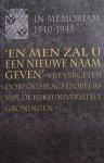 Tabak, Thialda - 'En men zal u een nieuwe naam geven' : vijf vergeten oorlogsslachtoffers van de Rijksuniversiteit Groningen