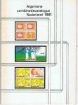 Sauerbier, A. - Algemene combinatiecatalogus Nederland 1981