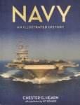 Hearn, Chester G. with contributions by Kit Bonner - Navy (An illustrated history), The US Navy from 1775 to the Twenty-First Century, 224 pag. paperback, gave staat