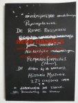 Andriesse, Paul ; René Daniëls ; Jaap Guldemond ; Pam Emmerik ; Gabriele Franziska Götz (book design) - René Daniels onvermijdelijke aantekeningen papierplezier de dichter bij de waarheid