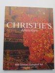 Christie's Amsterdam - Auction Catalogue Sale 2602 : 19th Century European Art. Tuesday 28 October 2003.