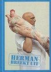 Blijker , Herman den - Herman Breekt Uit, 127 pag. hardcover, gave staat