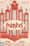 A.C. Vos - Händel 1759-1959