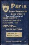 - Paris Arrondissements Sens uniques