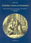 Vuyk, Dr. Simon - Verlichte verzen en kolommen (Remonstranten in de letterkunde en tijdschriften van de Verlichting 1720-1820)
