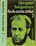 Solzjenitsyn Alexander Isayevich   Vertaling Pieter Grashoff   .. Omslag P.A.H. van  der  Harst - In de eerste cirkel  deel 2
