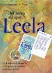 Hagen, J. van der - Leela - Het leven als spel / boek in doos met kaarten en dvd