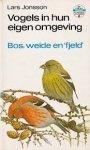 Johnsson - Vogels in hun eigen omgeving, bos, weide en fjeld