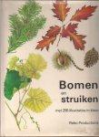 Vetvicka, Vaclav - Bomen en struiken, met 256 illustraties in kleur