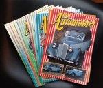 Lenn Bal hoofdredacteur - maandblad Het Automobiel jaargang 1983  34t/m 45