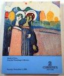 Christie, Manson & Woods International Inc - Modern Prints from the Neuerburg Collection: Tuesday, November 1, 1988