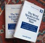 Gupta, Som Raj - The word speaks to the Faustian man / wisdom of Sankara, volume 1 and 2
