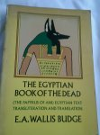 Wallis Budge, E.A. - The Egyptian Book of the Dead. (The papyrus of Ani) egyptian text transliteration and translation