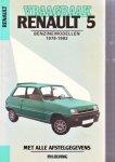p.h.olving - renault 5 benzine modellen 1979-1983