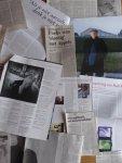 Fuchs, Rudi - Aantal (12) knipsels, artikelen over / interviews met Rudi Fuchs