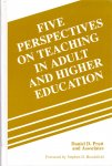 Pratt, Daniel D. (ds1306) - Five Perspectives on Teaching in Adult and Higher Education