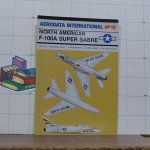 Moyes, Philip J.R. - aerodata international - 18 - North American F 100A Super Sabre