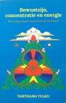 Tulku, Tarthang - Bewustzijn, concentratie en energie; de weg naar succesvol werken
