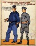 Clinge Doorenbosch, J.P.J.H.: - Brief van een ouden landweerman aan een jongen landstormer. Woorden & muziek van J.P.J.H. Clinge Doorenbos