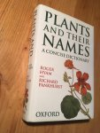 Hyam, R & R Pankhurst - Plants and their Names - A Concise Dictionary