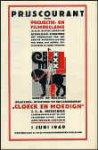 Meischke, J.C.A. - Prijscourant voor projectie- en filmreclame