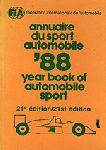 FIA - FIA Yearbook of Automobile Sport 1988