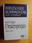 Elliger, K. - Deuterojesaja 40,1-45,7 (Biblischer Kommentar Altes Testament, Band XI/1)
