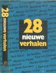 Buch, Boudewijn.(en anderen)  .. Omslag Marjo Starink - 28 Nieuwe verhalen 28 Jeroen Brouwers,  en Simon Carmiggelt, met Maarten 't Hart  & Joost  Zwagerman