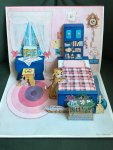 ? See photo - Paper Doll with pop-up bedroom