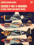 Ward, Richard & Christopher F. Shores - Aircam Aviation Series 07, Curtiss P-40D-N Warhawk in USAAF - French and Foreign Service, paperback, goede staat