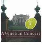 Astrid Fischer - A Venetian Concert. Buch & 4 CDs / Grand Italian Architecture and Renaissance Music