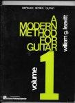Gleavitt,William - A modern method for guitar; volume 1
