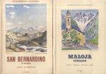 Auteurs (onbekend) - 6 x Schweizerische Alpenposten (zie extra en scans)