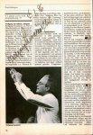 Sawalisch, Wolfgang: - [Programm mit eigenh. Unterschrift] Preludium. Concertgebouwnieuws januari 1986