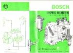 - BOSCH injectiesysteeem (Einspritz-Ausrustung fur Diesel-motoren)