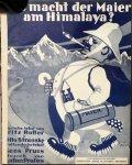 Profes, Anton: - Was macht der Maier am Himalaya? Deutsche tekst van Fritz Rotter & Otto Stransky. Hollandsche tekst van Kees Pruis