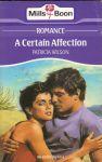 Wilson, Patricia - A Certain Affection