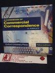 Ashley, A. - A Handbook of Commmercial Correspondence
