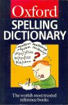 Waite, Maurice (Editor) - The Oxford spelling dictionary