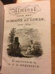 Swart, Nicolaas - Almanak voor het Schoone en Goede voor 1824