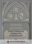 Mallan (redactie), Ds. F. - Kerkelijk Jaarboekje der Gereformeerde Gemeenten in Nederland, jaargang 1991 --- 44e jaargang