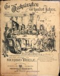Thiele, Richard: - Ein Theekränzchen vor hundert Jahren. Komische Gesangsaufführung mit Prosa... für 8 Damen und Chor adlibitum. Klavierauszug