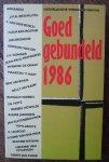 ARMANDO (e.a.), - Goed gebundeld 1986. Nederlandse verhalen van nu.