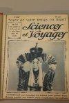 Collectif - Sciences et Voyages. 1e serie, 6e année, 1e semestre (Nr. 262-287 / 4 sept. 1924 - 26 febr. 1925 ) (Text in French)