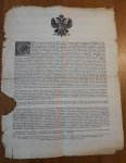 Keizer Karel VI - Carel by der gratie Godts... (boekverbod)